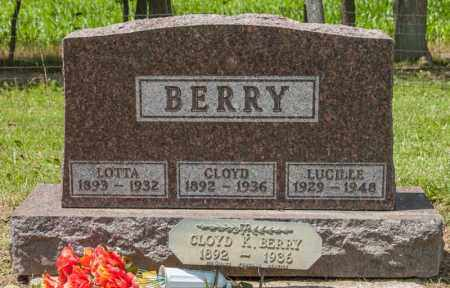 GREENAWALT BERRY, LOTTA JANE - Richland County, Ohio | LOTTA JANE GREENAWALT BERRY - Ohio Gravestone Photos