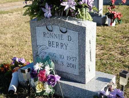 BERRY, RONNIE D - Richland County, Ohio | RONNIE D BERRY - Ohio Gravestone Photos
