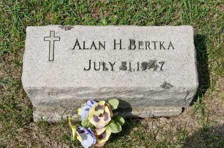 BERTKA, ALAN H - Richland County, Ohio | ALAN H BERTKA - Ohio Gravestone Photos
