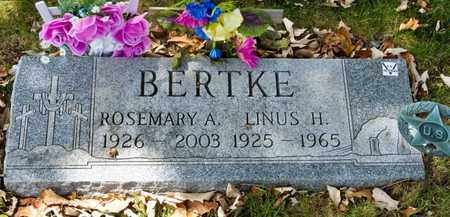 BERTKE, LINUS H - Richland County, Ohio | LINUS H BERTKE - Ohio Gravestone Photos