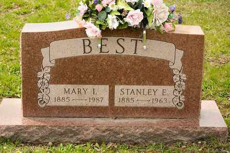 BEST, STANLEY E - Richland County, Ohio | STANLEY E BEST - Ohio Gravestone Photos
