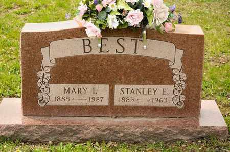 BEST, STANLEY E - Richland County, Ohio | STANLEY E BEST - Ohio Gravestone Photos