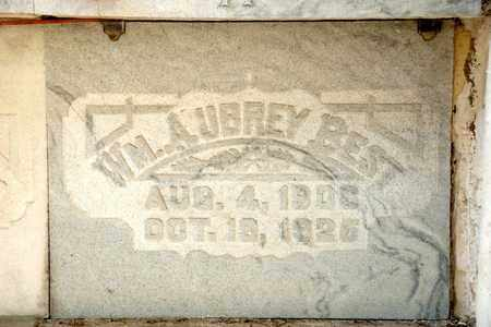 BEST, WILLIAM AUBREY - Richland County, Ohio | WILLIAM AUBREY BEST - Ohio Gravestone Photos