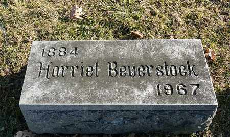 BEVERSTOCK, HARRIET - Richland County, Ohio | HARRIET BEVERSTOCK - Ohio Gravestone Photos