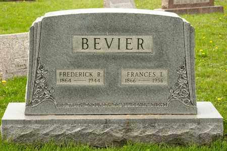 BEVIER, FRANCES I - Richland County, Ohio | FRANCES I BEVIER - Ohio Gravestone Photos