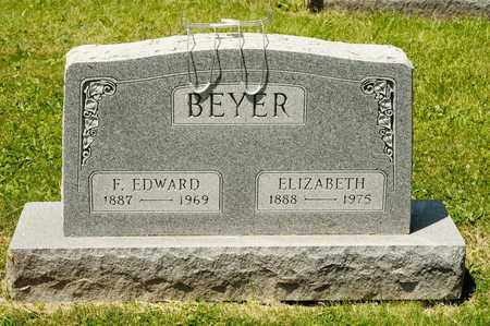 BEYER, ELIZABETH - Richland County, Ohio | ELIZABETH BEYER - Ohio Gravestone Photos