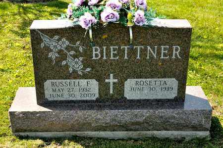 BIETTNER, RUSSELL F - Richland County, Ohio | RUSSELL F BIETTNER - Ohio Gravestone Photos