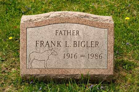 BIGLER, FRANK L - Richland County, Ohio | FRANK L BIGLER - Ohio Gravestone Photos