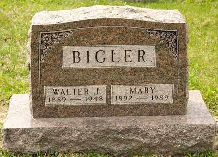 BIGLER, WALTER J - Richland County, Ohio | WALTER J BIGLER - Ohio Gravestone Photos