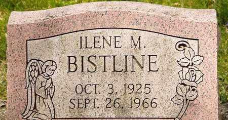 BISTLINE, ILENE M - Richland County, Ohio | ILENE M BISTLINE - Ohio Gravestone Photos