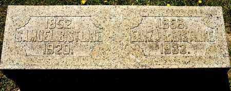 BISTLINE, ELIZA L - Richland County, Ohio | ELIZA L BISTLINE - Ohio Gravestone Photos