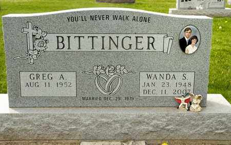 BITTINGER, WANDA S - Richland County, Ohio | WANDA S BITTINGER - Ohio Gravestone Photos