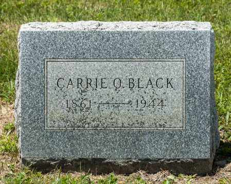 BLACK, CARRIE ORRVILLE - Richland County, Ohio | CARRIE ORRVILLE BLACK - Ohio Gravestone Photos