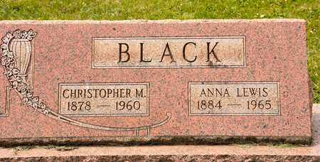 BLACK, CHRISTOPHER M - Richland County, Ohio | CHRISTOPHER M BLACK - Ohio Gravestone Photos