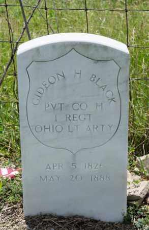 BLACK, GIDEON H - Richland County, Ohio | GIDEON H BLACK - Ohio Gravestone Photos