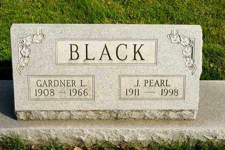BLACK, GARDNER L - Richland County, Ohio | GARDNER L BLACK - Ohio Gravestone Photos