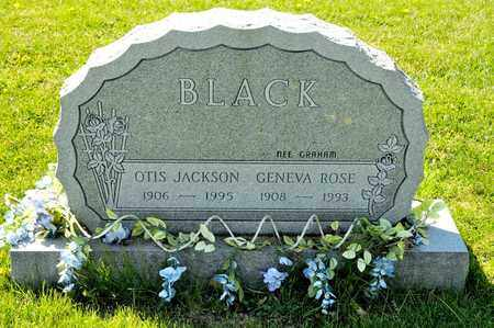 BLACK, GENEVA ROSE - Richland County, Ohio | GENEVA ROSE BLACK - Ohio Gravestone Photos