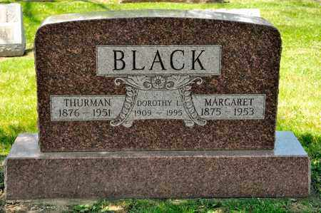 BLACK, THRUMAN - Richland County, Ohio | THRUMAN BLACK - Ohio Gravestone Photos