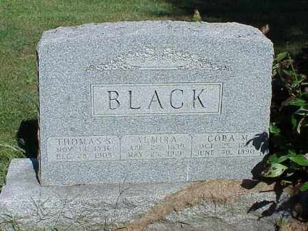 BLACK, CORA M. - Richland County, Ohio | CORA M. BLACK - Ohio Gravestone Photos