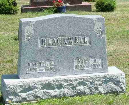 BLACKWELL, RACHEL E - Richland County, Ohio | RACHEL E BLACKWELL - Ohio Gravestone Photos