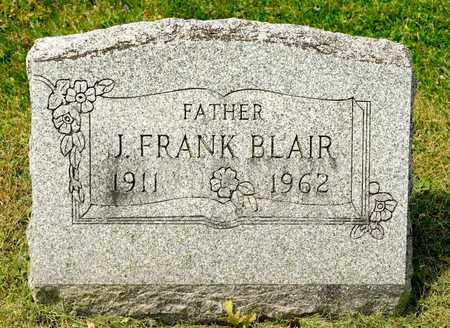 BLAIR, J FRANK - Richland County, Ohio | J FRANK BLAIR - Ohio Gravestone Photos