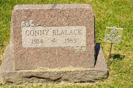BLALACK, CONNY - Richland County, Ohio | CONNY BLALACK - Ohio Gravestone Photos