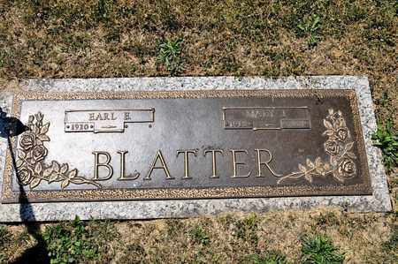 BLATTER, MARY J - Richland County, Ohio | MARY J BLATTER - Ohio Gravestone Photos