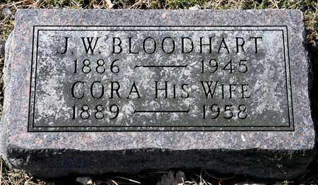 BLOODHART, J W - Richland County, Ohio | J W BLOODHART - Ohio Gravestone Photos
