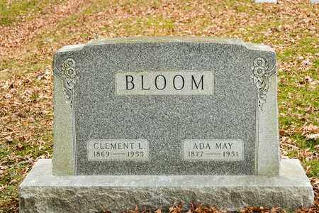 BLOOM, CLEMENT L - Richland County, Ohio | CLEMENT L BLOOM - Ohio Gravestone Photos