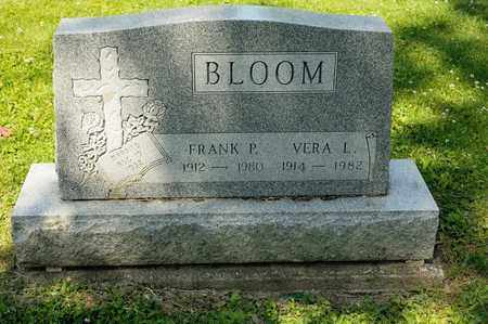 BLOOM, VERA L - Richland County, Ohio | VERA L BLOOM - Ohio Gravestone Photos
