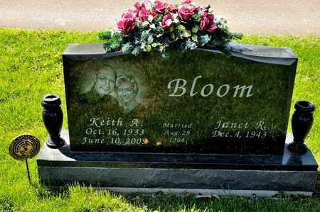 BLOOM, KEITH A - Richland County, Ohio | KEITH A BLOOM - Ohio Gravestone Photos