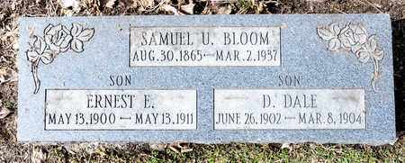 BLOOM, SAMUEL U - Richland County, Ohio | SAMUEL U BLOOM - Ohio Gravestone Photos