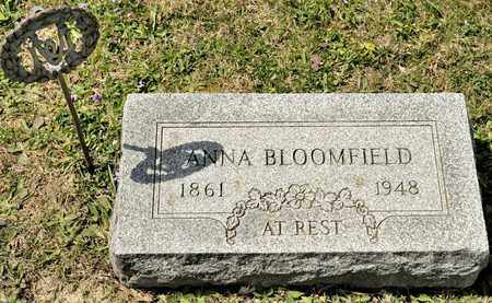 BLOOMFIELD, ANNA - Richland County, Ohio | ANNA BLOOMFIELD - Ohio Gravestone Photos