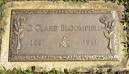 BLOOMFIELD, C CLARE - Richland County, Ohio | C CLARE BLOOMFIELD - Ohio Gravestone Photos