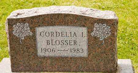 BLOSSER, CORDELIA I - Richland County, Ohio | CORDELIA I BLOSSER - Ohio Gravestone Photos