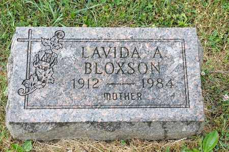 BLOXSON, LAVIDA A - Richland County, Ohio | LAVIDA A BLOXSON - Ohio Gravestone Photos