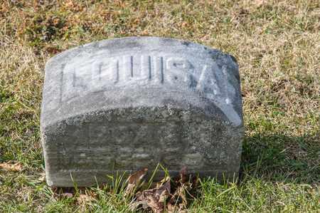 BOALS, LOUISA - Richland County, Ohio | LOUISA BOALS - Ohio Gravestone Photos