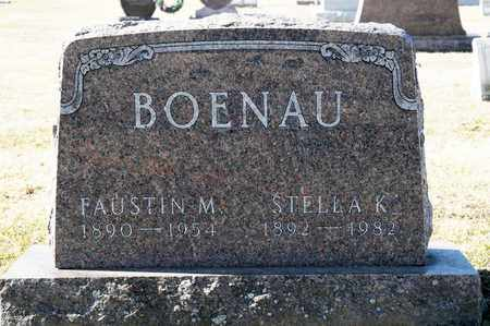 BOENAU, FAUSTIN M - Richland County, Ohio | FAUSTIN M BOENAU - Ohio Gravestone Photos