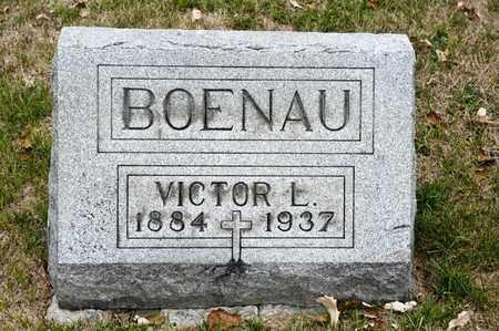 BOENAU, VICTOR L - Richland County, Ohio | VICTOR L BOENAU - Ohio Gravestone Photos