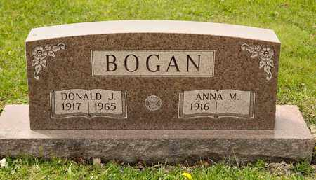 BOGAN, DONALD J - Richland County, Ohio | DONALD J BOGAN - Ohio Gravestone Photos