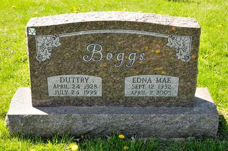 BOGGS, EDNA MAE - Richland County, Ohio | EDNA MAE BOGGS - Ohio Gravestone Photos
