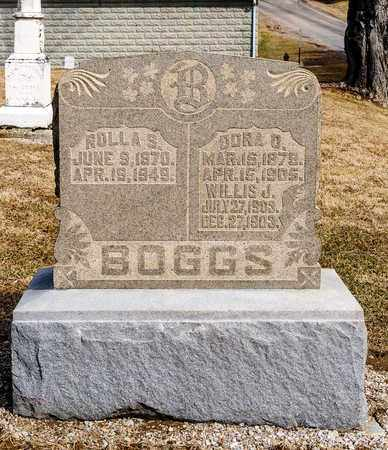 BOGGS, WILLIS J - Richland County, Ohio | WILLIS J BOGGS - Ohio Gravestone Photos