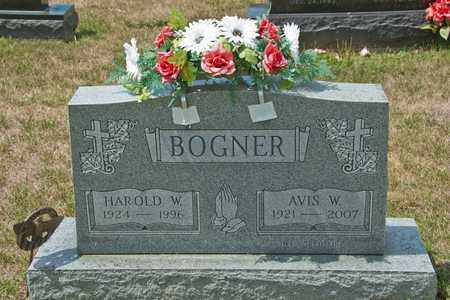 BOGNER, HAROLD W - Richland County, Ohio | HAROLD W BOGNER - Ohio Gravestone Photos