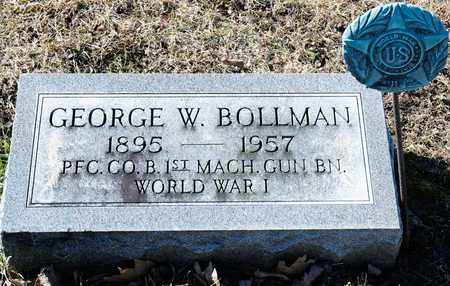 BOLLMAN, GEORGE W - Richland County, Ohio | GEORGE W BOLLMAN - Ohio Gravestone Photos