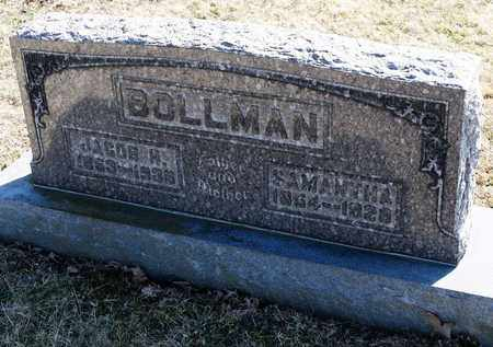BOLLMAN, JACOB H - Richland County, Ohio | JACOB H BOLLMAN - Ohio Gravestone Photos