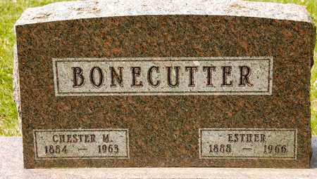 BONECUTTER, CHESTER M - Richland County, Ohio | CHESTER M BONECUTTER - Ohio Gravestone Photos