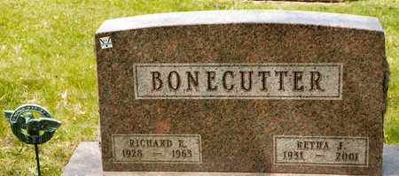 BONECUTTER, RICHARD E - Richland County, Ohio | RICHARD E BONECUTTER - Ohio Gravestone Photos