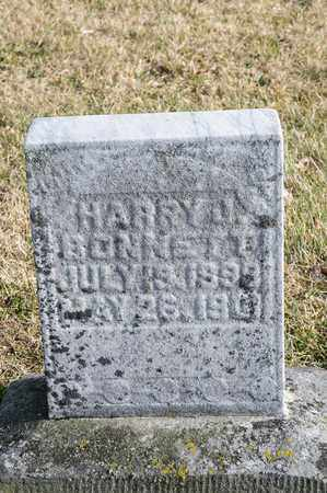BONNETT, HARRY J - Richland County, Ohio | HARRY J BONNETT - Ohio Gravestone Photos