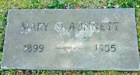 BONNETT, MARY O - Richland County, Ohio | MARY O BONNETT - Ohio Gravestone Photos