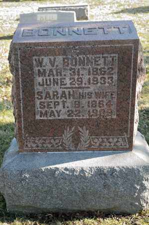 BONNETT, SARAH - Richland County, Ohio | SARAH BONNETT - Ohio Gravestone Photos